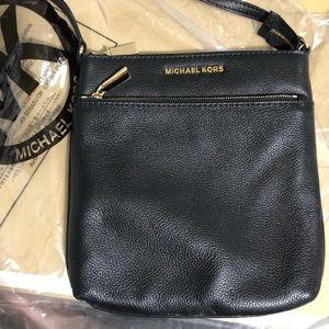 MK leather crossbody